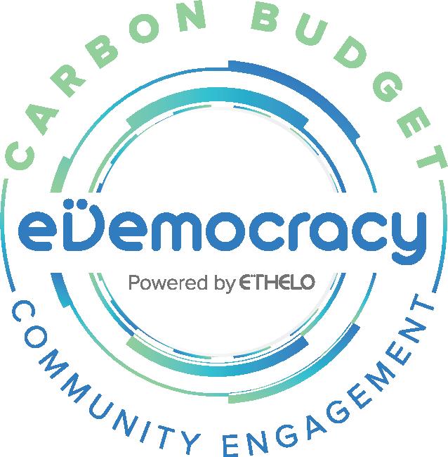 eDemocracy Carbon Budget Logo